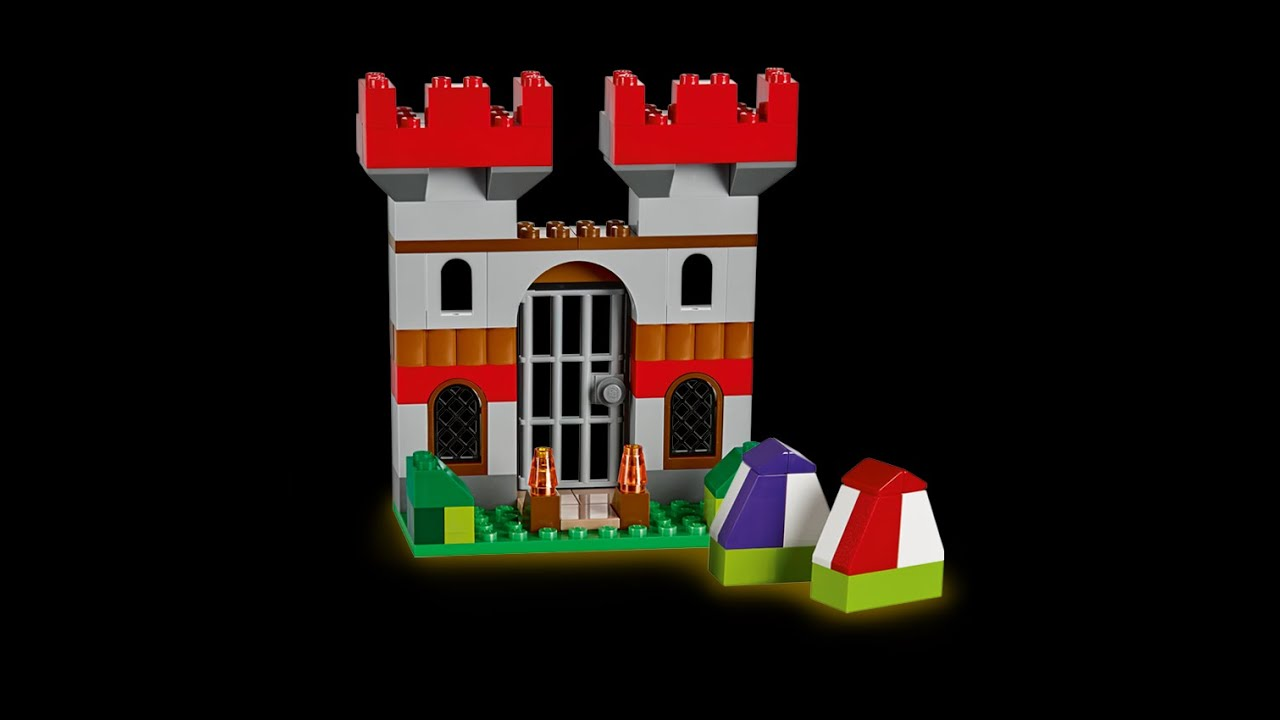 Castle How To Build Lego Classic 10698 Youtube