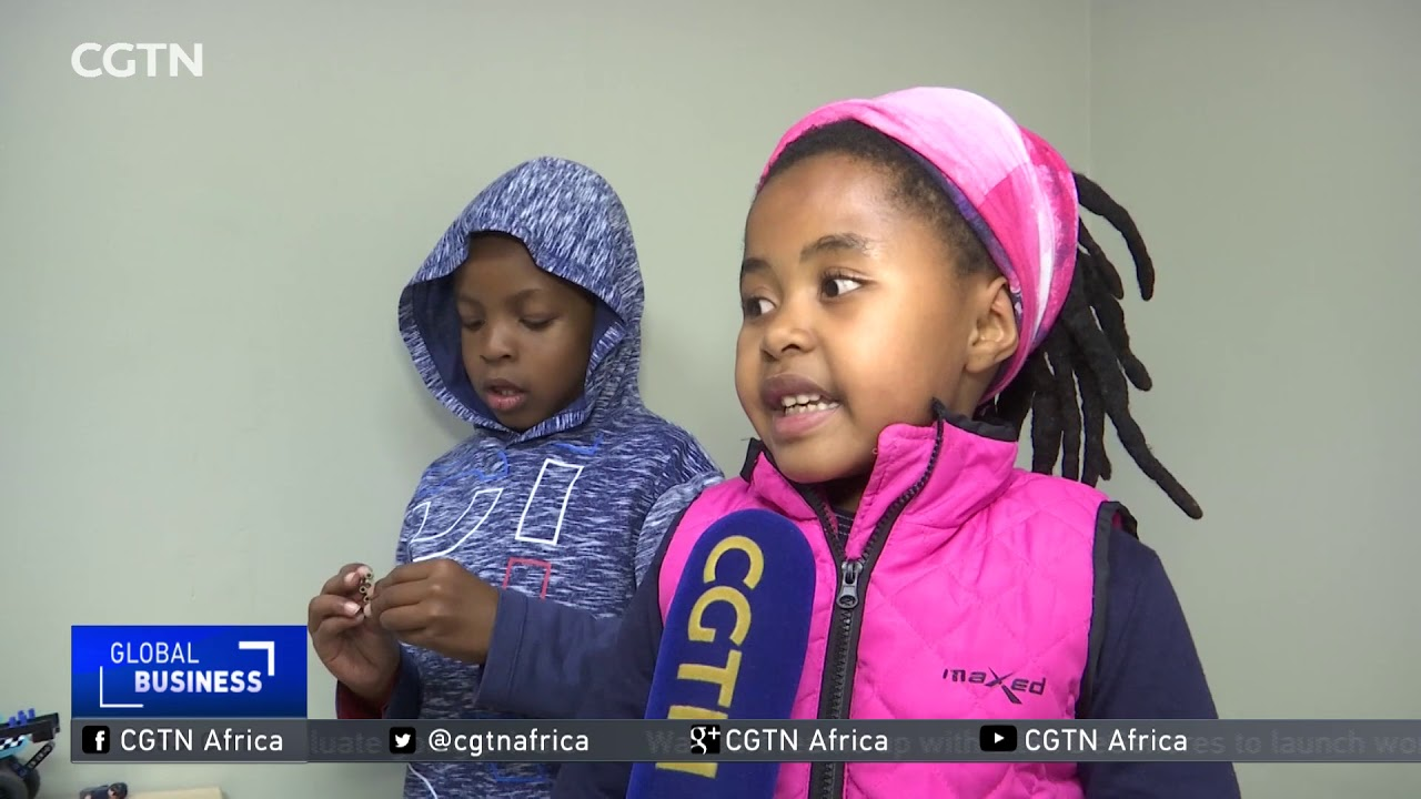 Video game teaches young children about coding in South Africa