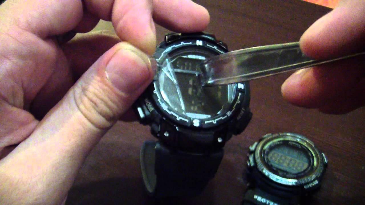 Инструкция к китайским часам