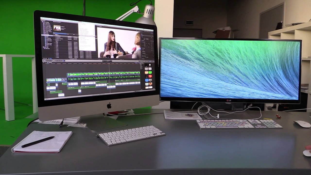 how to split wallpaper for dual monitor mac