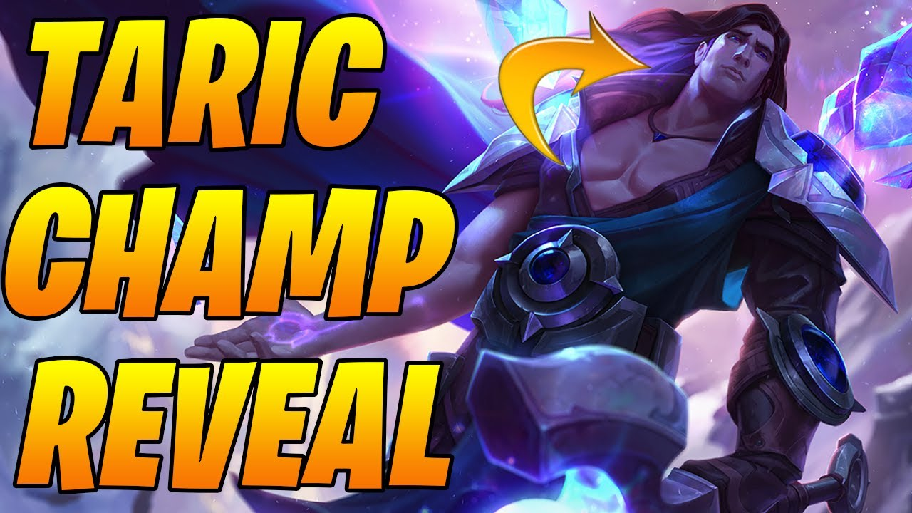 Targon Taric *NEW* Champion + New Cards Revealed!  | Legends of Runeterra | Controltheboard