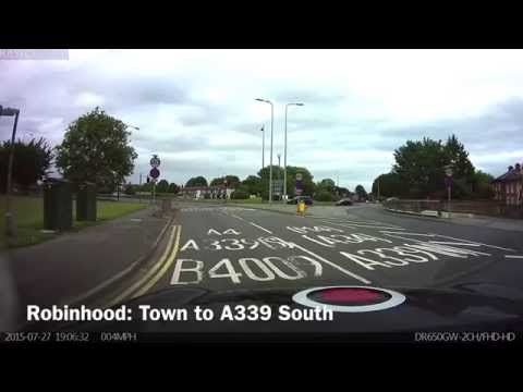 Robinhood Roundabout From Newbury Town Centre