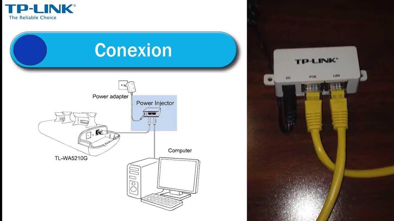 Configuracion de un TL-WA5210G | Modo Access Point - YouTube