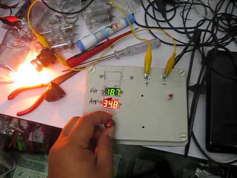 high voltage adjustable power supply (unregulated ) prototype youtube