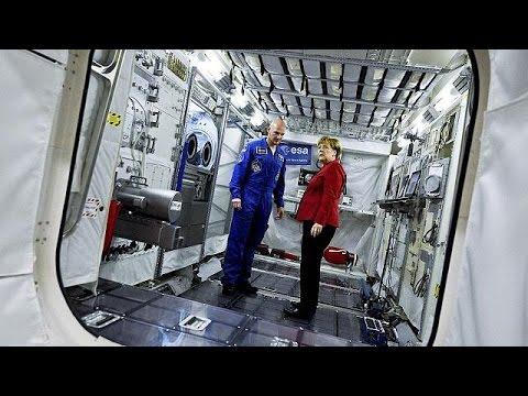 Uluslararası Uzay İstasyonu'na Ilk Kez Bir Alman Komutan