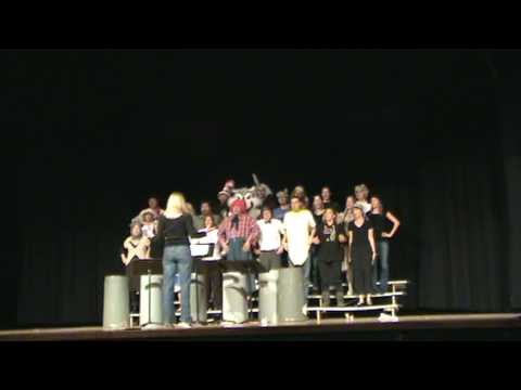 "Nevin Platt Middle School Faculty Follies Ending Song ""KIDS!"""