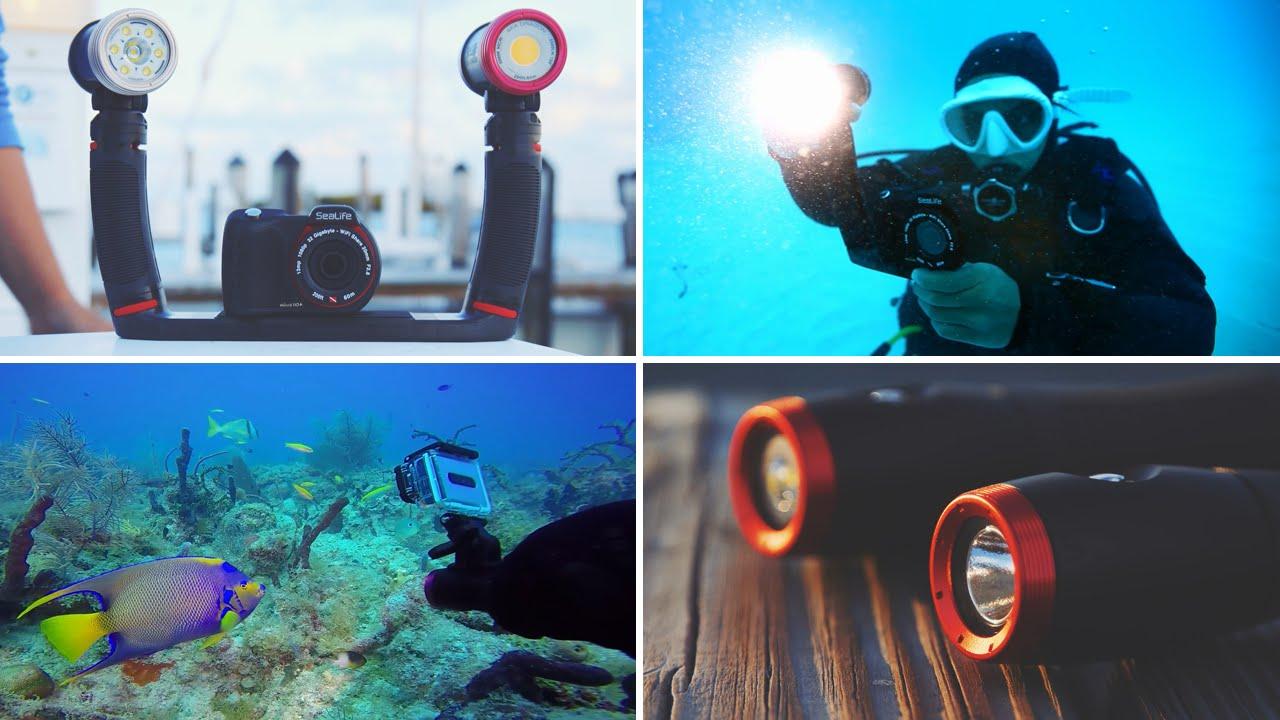 Sealife Sea Dragon 2000 Foto-Video Light Foto-Video Licht für Unterwasserkamera