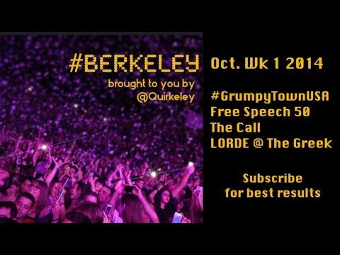 #Berkeley: October Wk1 2014