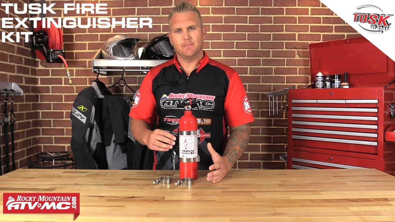 Tusk Utv Fire Extinguisher Kit Youtube
