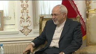 وفد من البرلمان الأوروبي في طهران وحوار خاص تجريه يورونيوز مع محمد جواد ظريف