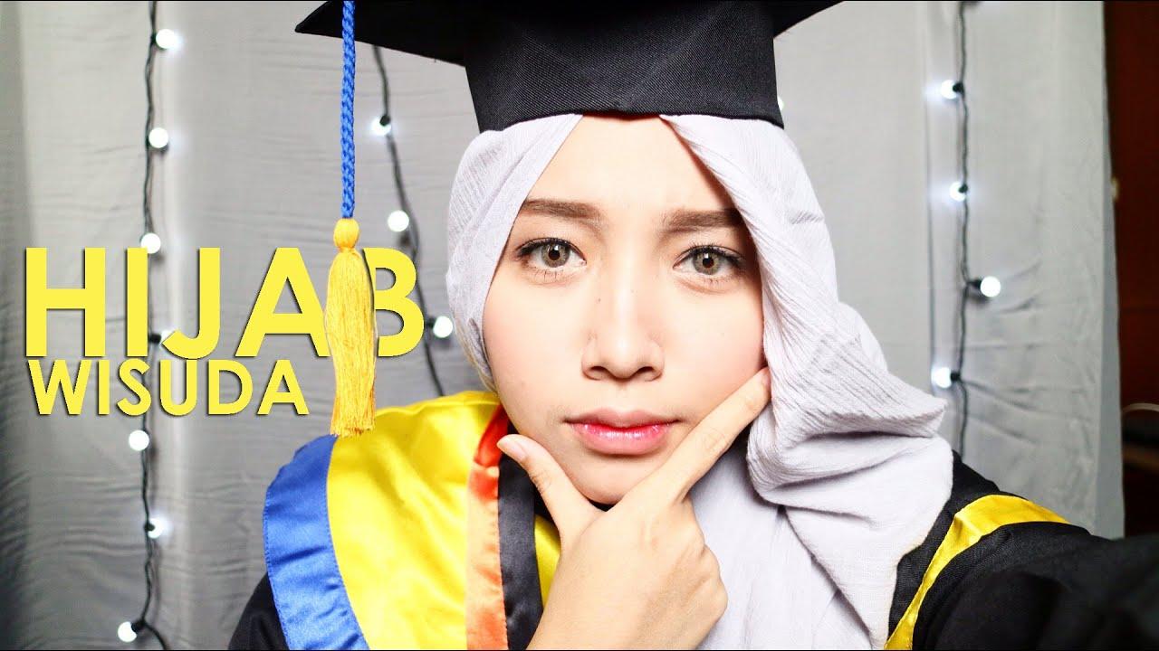 HIJAB TUTORIAL WISUDA SIMPLE FATHI NRM INDONESIA YouTube