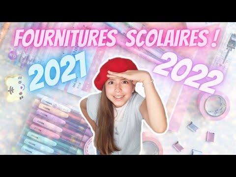 Chasse aux Fournitures Scolaires 2021 / 2022 Collège // KIARA PARIS 🌸