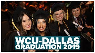 WCU-Dallas Graduation 2019