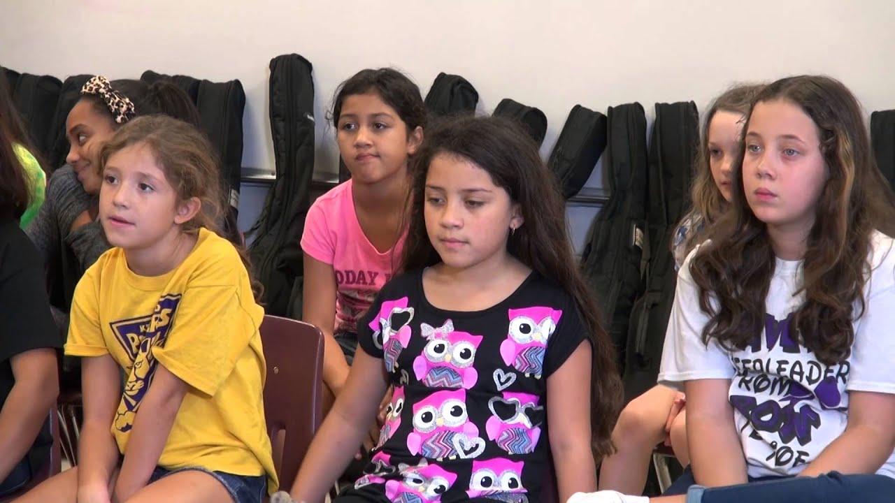 Music Teacher Dedicates Time To Underprivileged Kids