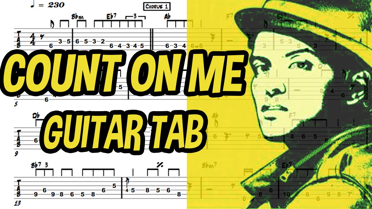 Learn How To Play Count On Me Fingerstyle Acoustic Guitar Lesson