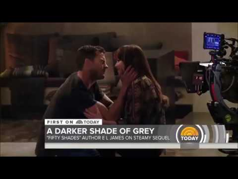 """""""Fifty Shades Darker"""" Behind The Scene Video shared by """"The Today Show"""""""