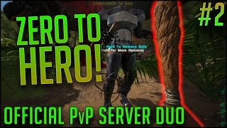 CLUBS ARE BALANCED | Official PvP Server DUO | Episode 2 | ARK Survival Evolved Let's Play