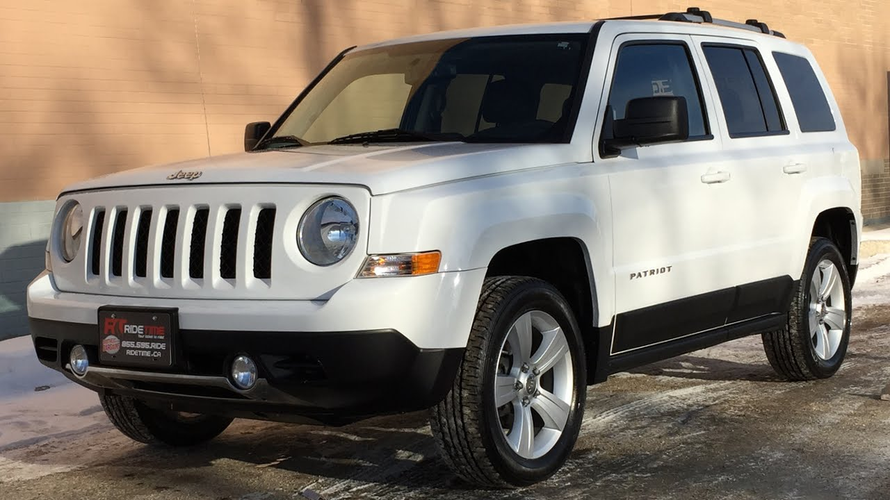 2011 Jeep Patriot Limited 4wd Leather Heated Seats Nav Moonroof Huge Value Youtube