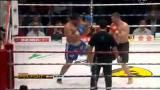 mirko cro cop vs ray sefo round 2 nova tv 10 03 2012 cro cop win