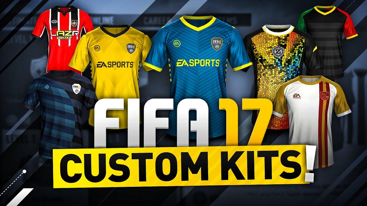 f8a2c9532 FIFA 17 CUSTOM KITS! - YouTube