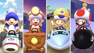 All Toad Characters in Mario Kart