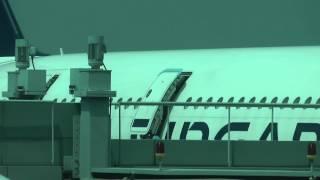 A380 Door Seal Repairs another ATC Communication Singapore Changi Airport