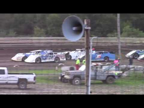 Hummingbird Speedway (8-31-19): Swanson Heavy Duty Truck Repair Semi-Late Model Heat Race #1