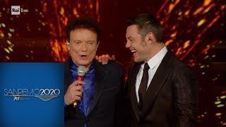 Sanremo 2020 - Il duetto di Massimo Ranieri e Tiziano Ferro