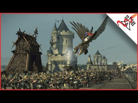 EPIC SIEGE OF COURONNE - Total War: WARHAMMER