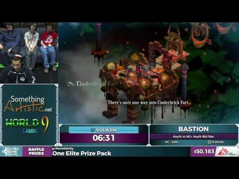 Bastion by Vulajin in 0:14:02 - SGDQ2016 - Part 5