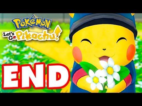 ENDING! The Elite Four! - Pokemon Let's Go Pikachu and Eevee - Gameplay Walkthrough Part 23