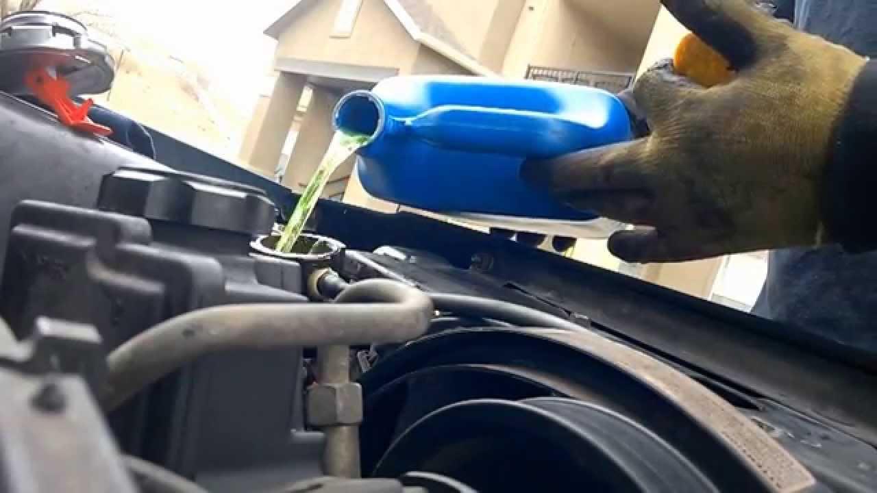 1998 Jeep Cherokee >> como canbias una bomba de agua en un motor 6 cilindros - YouTube