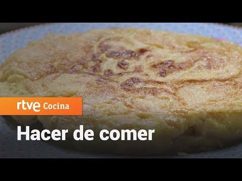 Cómo Hacer Tortilla De Patata - Hacer De Comer | RTVE Cocina
