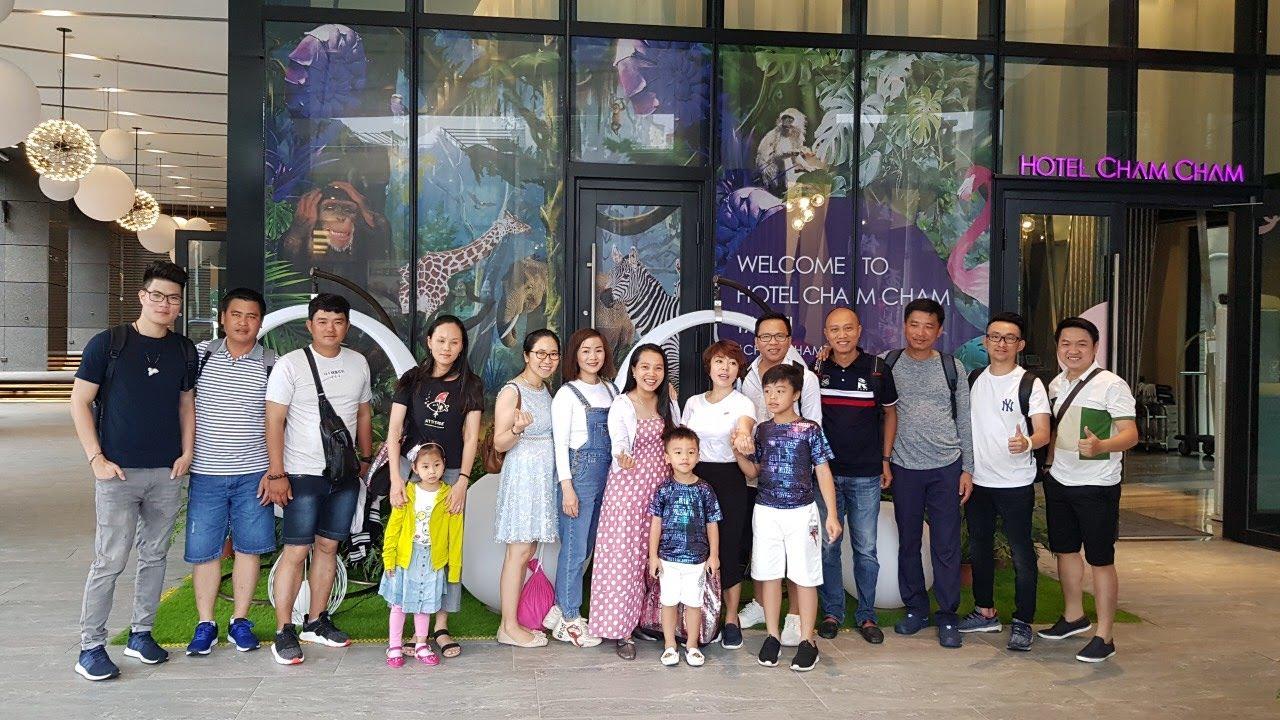 Du lịch Đài Loan ngày 1: Tập thể PCG Kiên Giang 2019