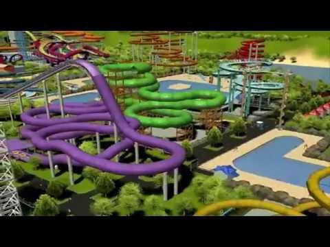 RCT3 Roller Coaster Tycoon 3- Waterworld |