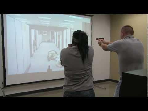 MILO Range Simulator at Hawkeye Community College