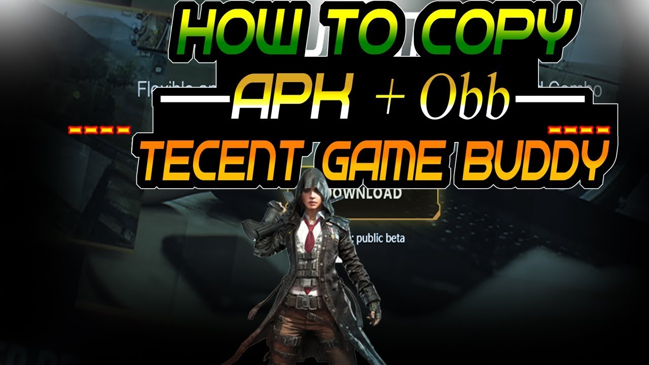 How to Copy Files | APK & OBB From PC | Mobile To Tencent Emulator