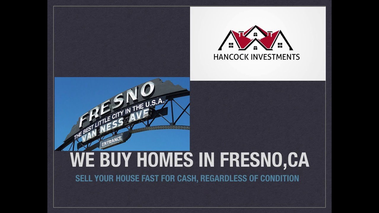 We Buy Houses in Fresno, CA | Sell Your House Fast for Cash - YouTube