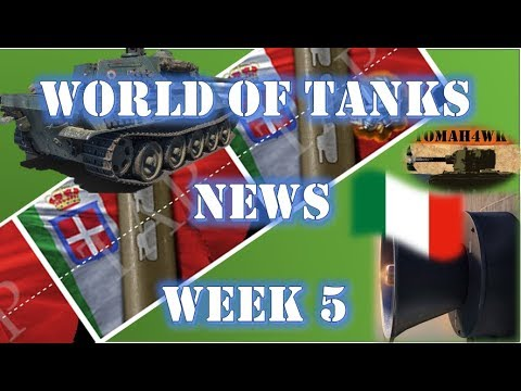 WoT News - Week 5 2018 - Italian Voices!