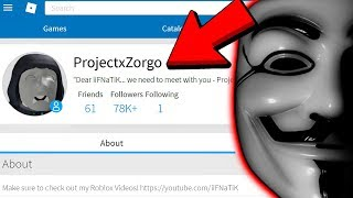Project Zorgo wants to meet with me... (Roblox)