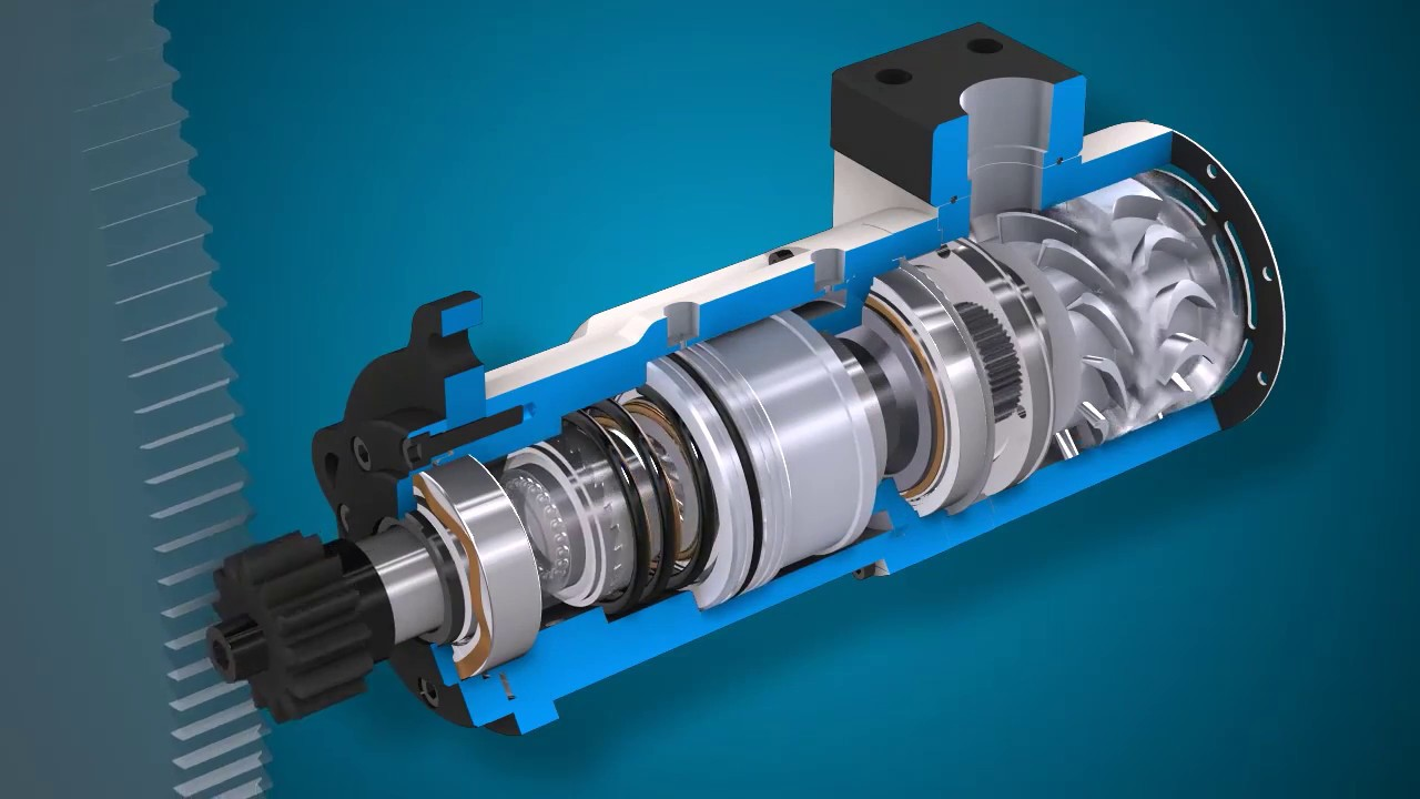 How ellem turbine air starter motor starts the engine for What is air motor
