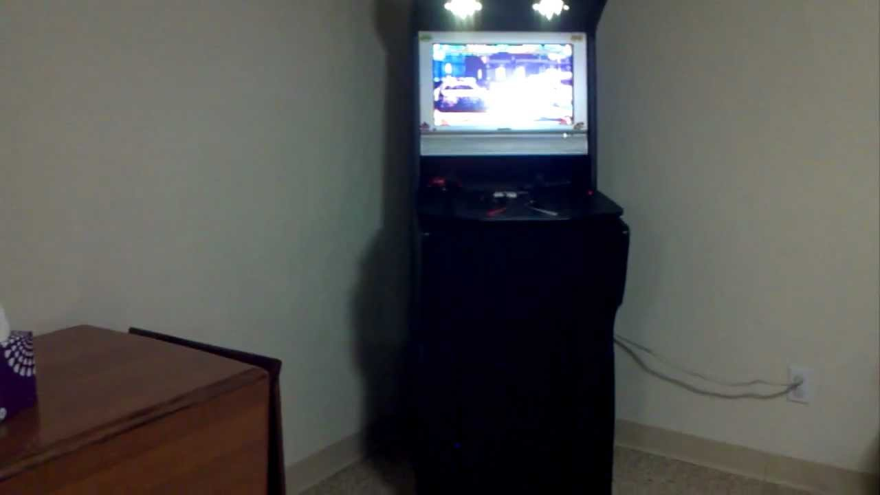 My Xtension Arcade Cabinet with Xbox CoinOps - YouTube