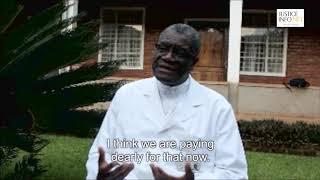 Interview in Bukavu with Dr. Denis Mukwege