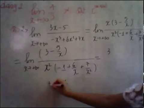 bài giảng môn toán :ôn tập ktr chương giới hạn lớp11 căn bản