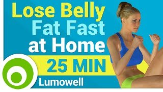 Exercises to Lose Belly Fat at Home Fast
