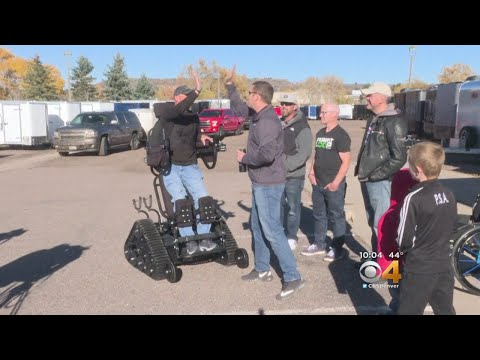 Detective's Specialized Wheelchair Allows Him To 'Look People In Eyes'