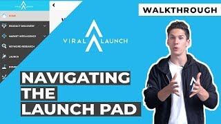Navigating The Viral Launch Homepage | Walkthrough And Tutorial On Accessing The Launch Pad