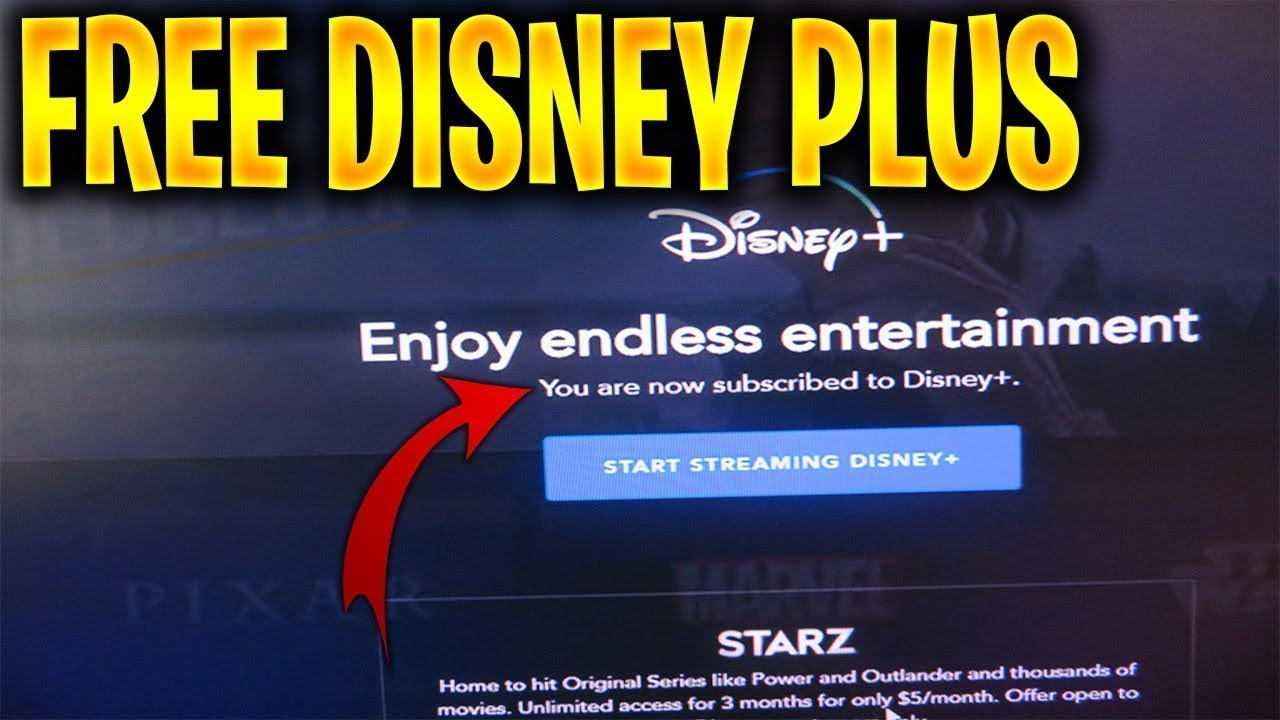 How To Get Disney Plus For Free Disney Plus Free Membership Forever Youtube