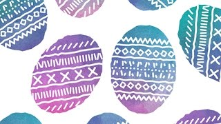 How te create Easter watercolor Eggs in Adobe Illustrator| Freepik