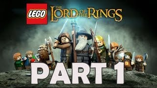 LEGO The Lord of the Rings Walkthrough Part 1 Let